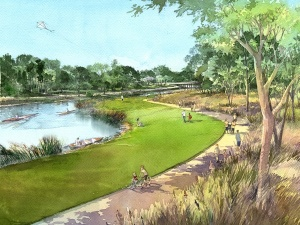 Rendering courtesy of Bayou Greenways 2020